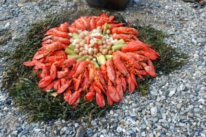 Dreaming of an island lobster bake as winter lingers on. Photo copyright Nathaniel Hammond