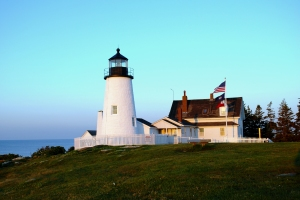 Pemaquid Point Lighthouse at Sunrise Photo (c) Nathaniel Hammond